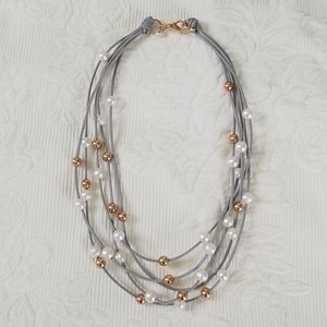 Honora Bronze Italy Pearl Necklace
